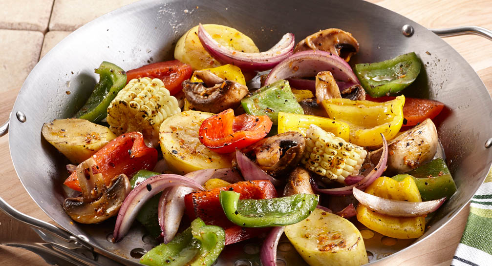 Roasted Garlic Grilled Vegetables