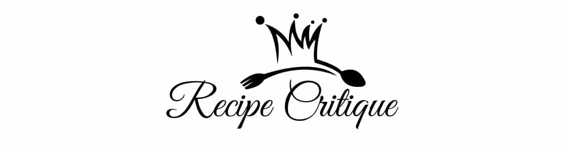 Recipe Critique