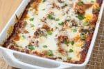 Kale and Baby Bella Mushroom Lasagna
