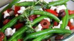 Marinated Green Beans with Olives, Tomatoes, Onions and Feta