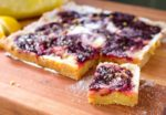 Lemon Cherry Swirl Bars