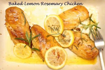 Baked Lemon Rosemary Chicken