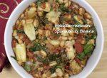Mediterranean Spinach & Beans with Artichoke Hearts
